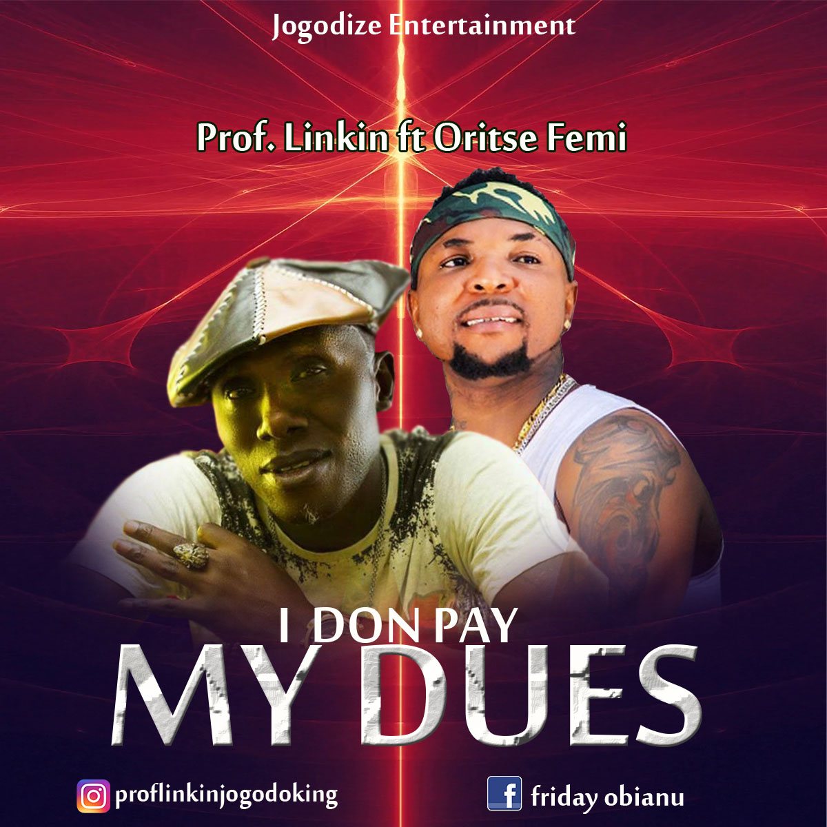 Download Music: Prof. Linkin ft Oritse Femi – I Don Pay My Dues