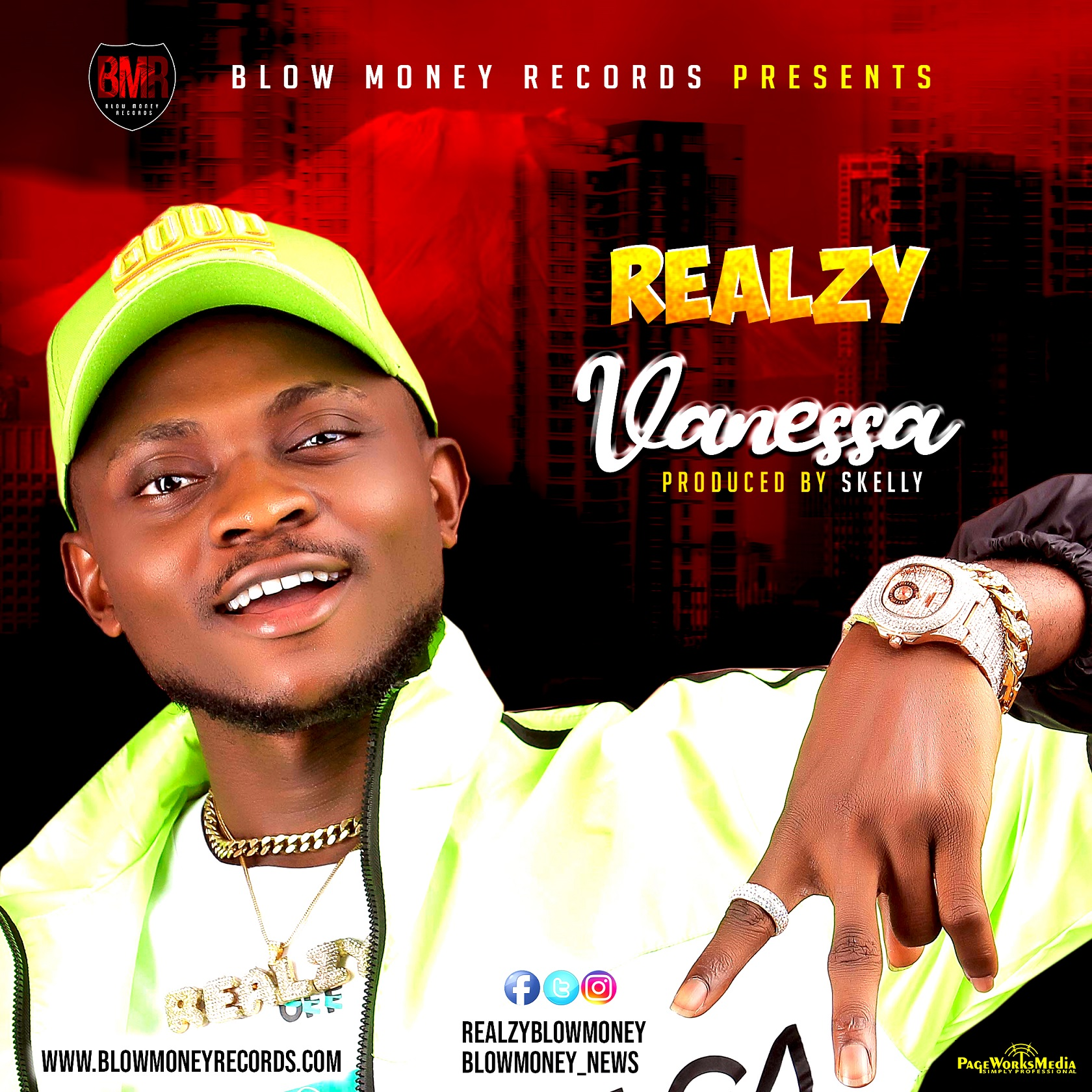 Download Music: Realzy – Vanessa (Prod. By Skelly)