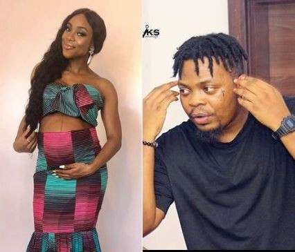 Nigerians react in disbelief to reports that Beat FM's Maria Okan is 8-months pregnant for rapper, Olamide