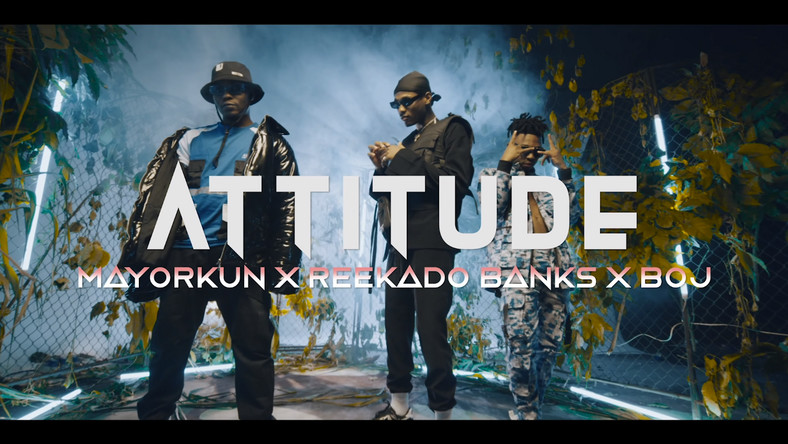 "Download Video: Attitude x Mayorkun x Reekado Banks x BOJ – ""Higher Your Body"""
