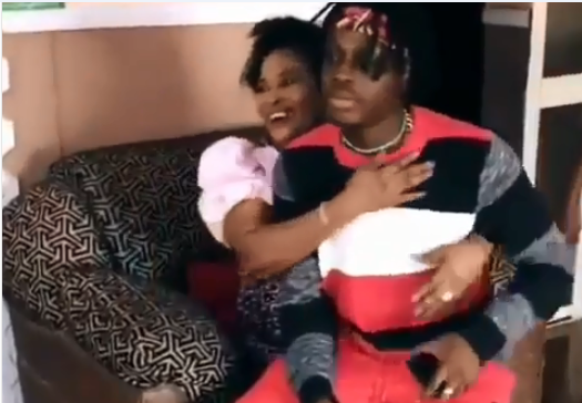 Watch Video || Fireboy Gives Mother A Surprise Visit, Her Reaction Was Everything You Would Ever Hope For