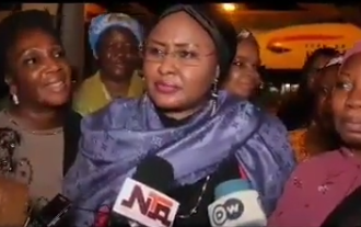 Here is a video of Aisha Buhari confirming that Mamman Daura's daughter filmed her losing her cool in the villa