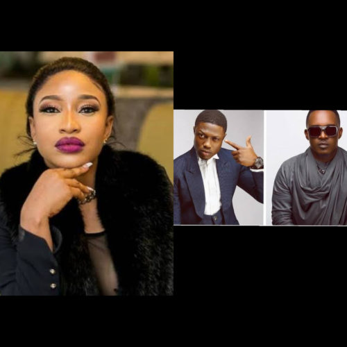 Actor; Tonto Dikeh Expresses Willingness To Join Vector & MI In The 40 Million Rap Battle