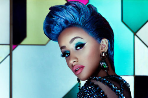 "Cardi B Goes Nude To Channel ""Poison Ivy"" In New Halloween Look"