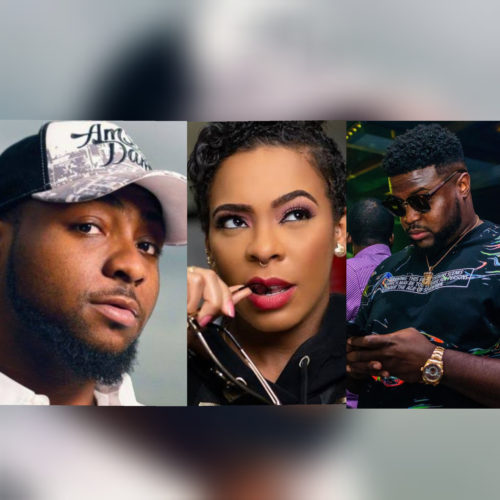 Davido & His Brother, ChairmanHKN, Fireback At T-boss For Calling Him Out Over Arrest Of Clout Chasing Girls