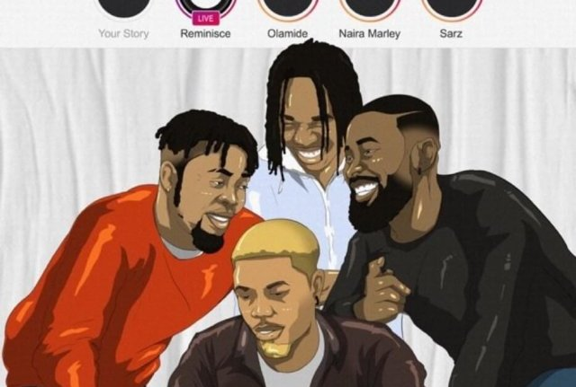 Download Music: Reminisce – Instagram Ft. Olamide, Naira Marley & Sarz