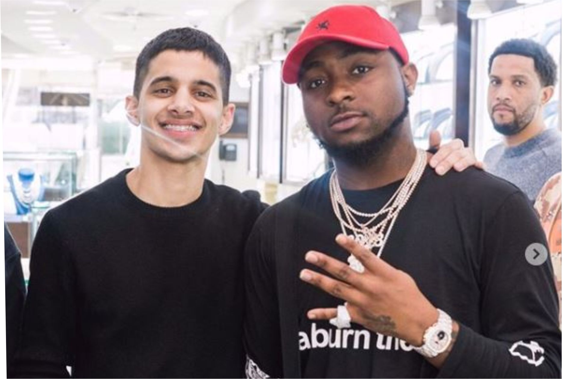 Davido Spends Between 50 Million To 100 Million Whenever He Visits My Shop – US Jeweller; Ice Box Reveals