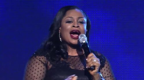Gospel singer; Sinach, Welcomes First Child At Age 46 After 5 Years Of Marriage