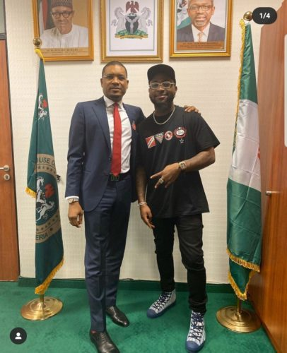 Davido Kicks Off Politics Plans As He Visits Quilox Owner; Hon. Shina Peller At The National Assembly In Abuja || Watch Video
