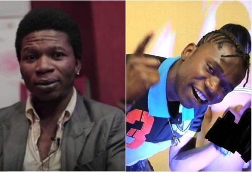 Watch Moment Speed Darlington Met His Music Rival; Vic O At A Club In Lagos, What Happened Next was Shocking!
