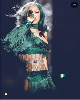 I Am Missing Nigeria – Cardi B Declares After Just few Days Away From The Motherland