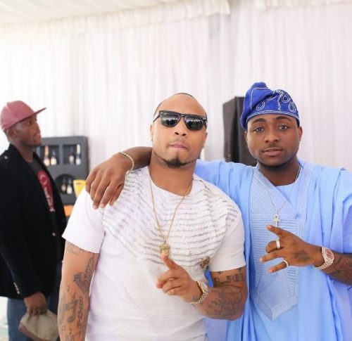 Watch Davido Exercise Great Joy As He Carries The New Born Son Of His Cousin; B-red