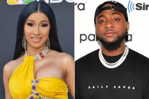 "Davido & I Recorded ""Fall"" Remix 9 Months Ago, But My Label Didn't Allow Us Release It – Cardi B Reveals"