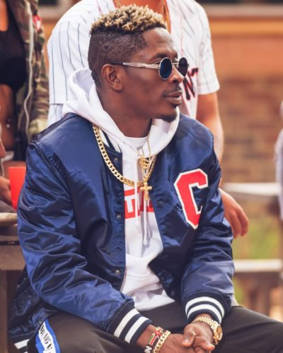 Shatta Wale Seen Flying A GHF – 630 Helicopter During Cardi B's Show || Watch Video