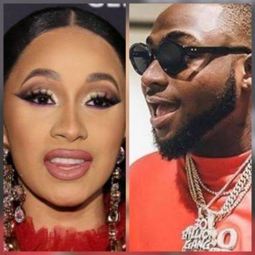 "Davido Features American Rap Star; Cardi B On ""Fall"" Remix || Listen & Watch Snippet"