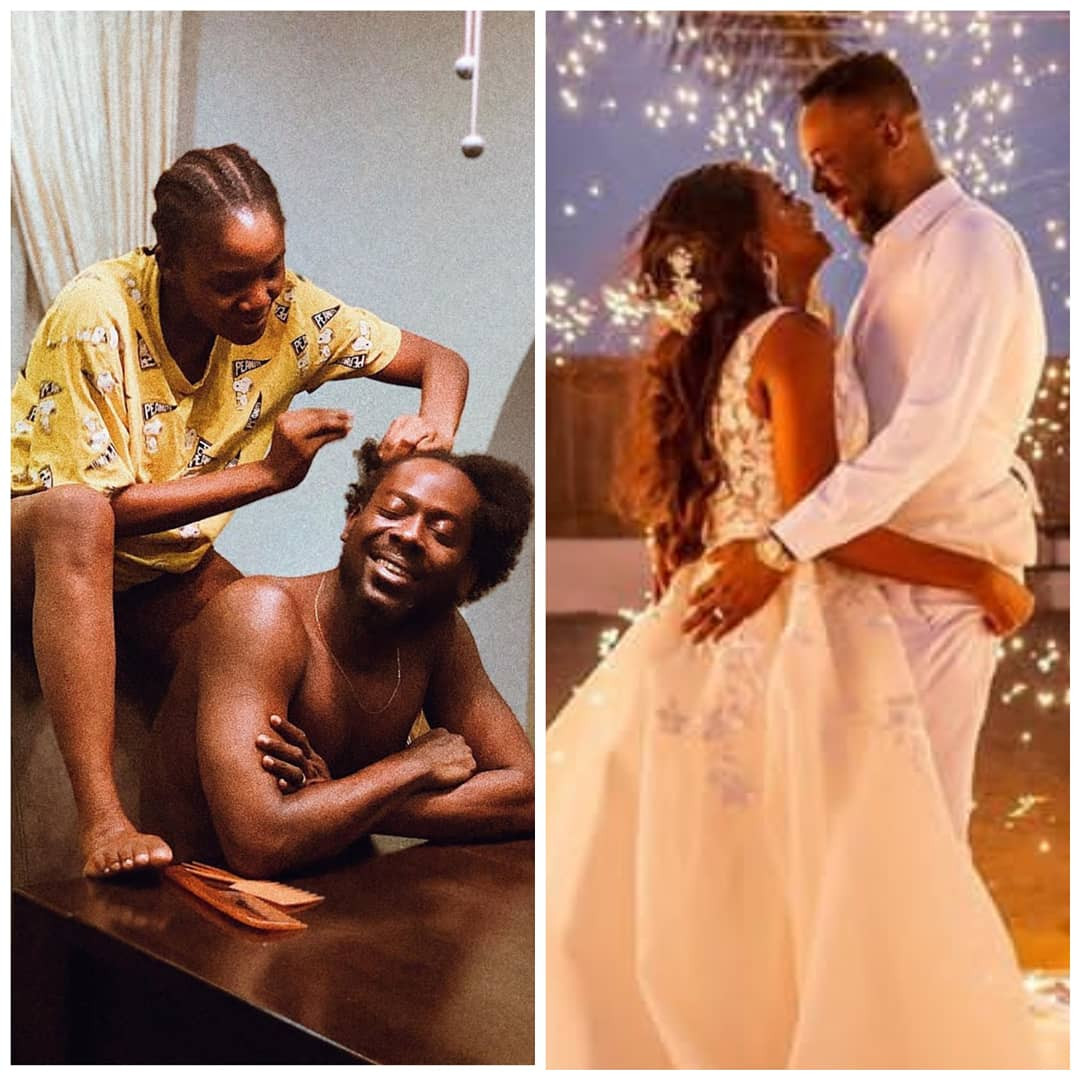 No one is more in sync with me than you – Simi tells Adekunle Gold as they celebrate 1st wedding anniversary
