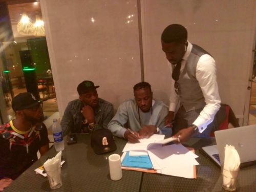 """""""He Was Present When Davido Signed Me To DMW"""" – Peruzzi Exposes Former Boss, King Patrick"""