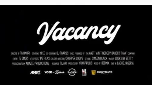 "Download Music + Video: Ycee – ""Vacancy"""