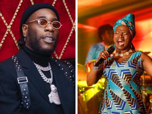 Nigerians Are Upset About Burna Boy Losing A Grammy To Angelique Kidjo || See Epic Reactions