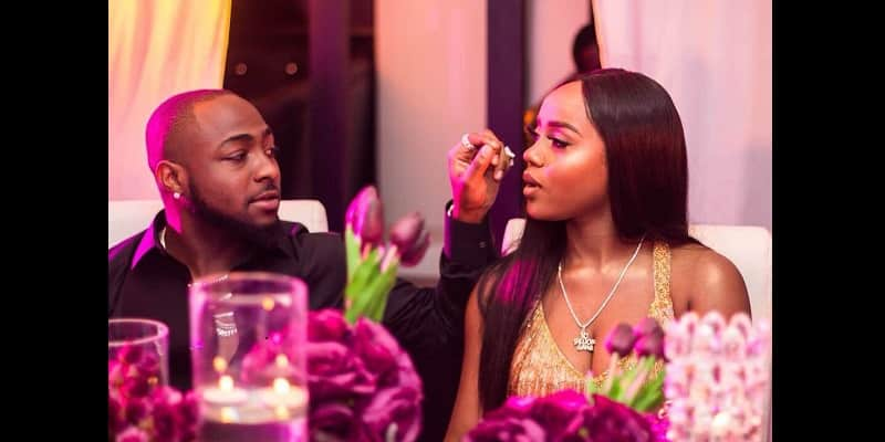 Tension As Davido & Chioma Unfollow Each Other On Instagram Over Cheating Scandal
