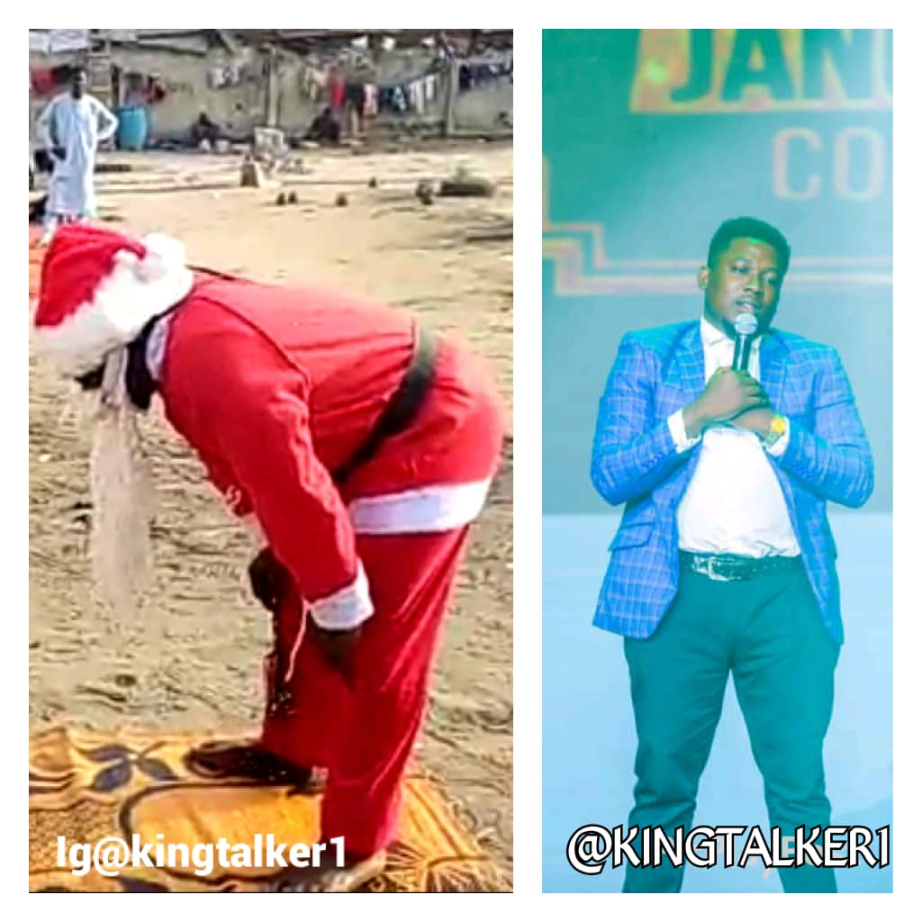 Father Christmas in the mosque discovered – King talker (@kingtalker1)