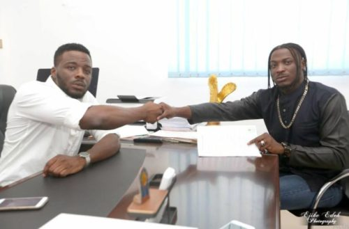 """Lies! I Never Signed The Contract"" – King Patrick Fires Back At Peruzzi For Lying About Signing With Davido"