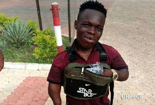 Ghanaian Instagram Sensation; Shatta Bandle Welcomes D'Banj To Ghana, Gifts Him 50k Dollars