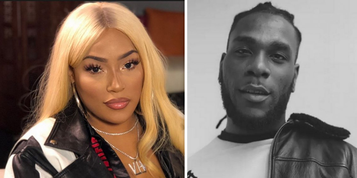 """You're My Winner""- Stefflon Don Praises Burna Boy Despite Losing Grammy"