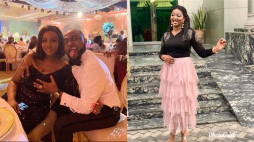 Nigerian Actress, Etinosa Dragged For Dropping Negative Comment On Davido's Post On IG