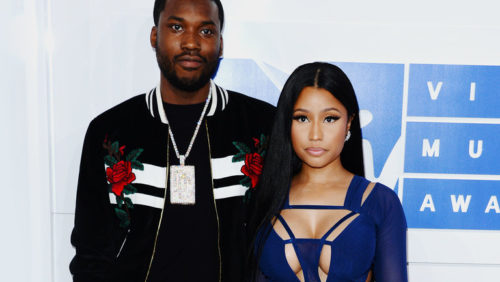 Nicki Minaj Drags Ex-Boyfriend, Meek Mill On Twitter For Mocking Her Husband's Outfit