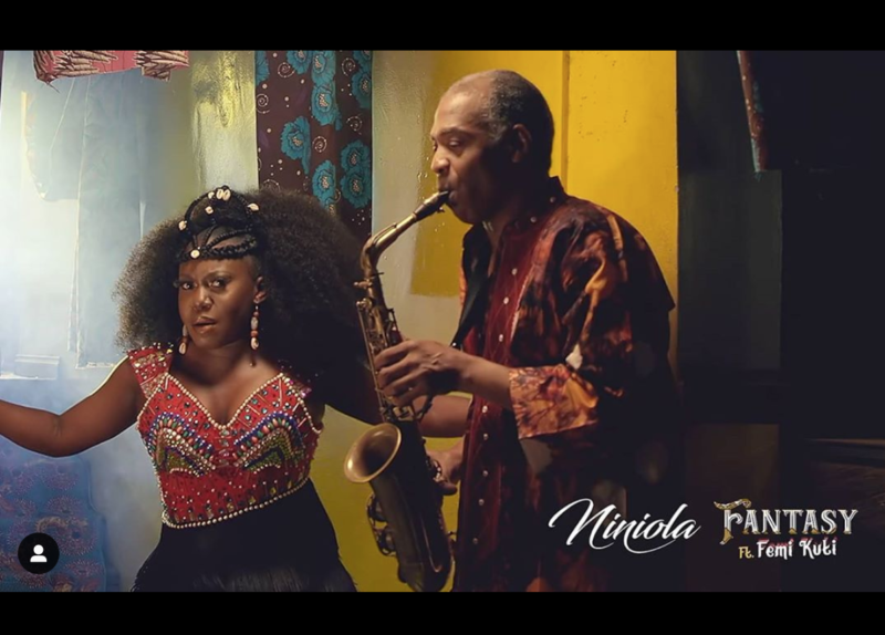 "Video: Niniola – ""Fantasy"" ft. Femi Kuti"