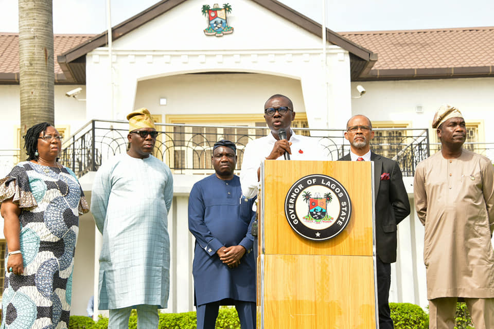 Coronavirus: Governor Sanwo-Olu orders closure of Nightclubs, Bars