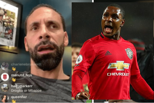 Watch Video: Manchester United legend Rio Ferdinand backs the club to sign Odion Ighalo permanently
