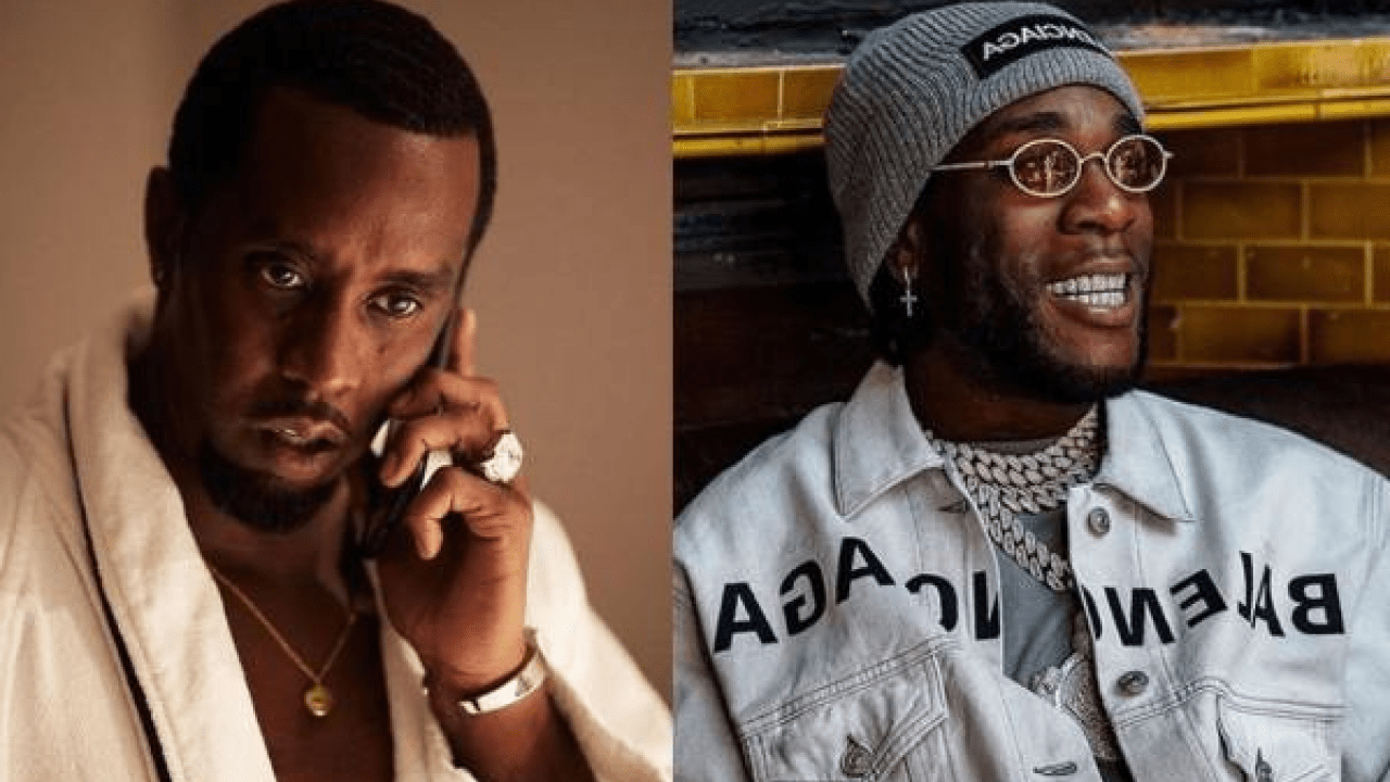 Diddy Showers Accolades On Burna Boy, Says He Would Be Honoured To Share A Stage With Him