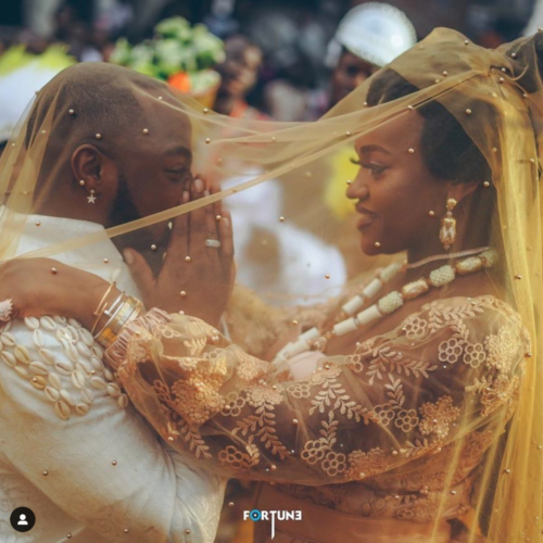 Davido Pens Beautiful Message To Celebrate His Fiancee, Chioma On Her Birthday