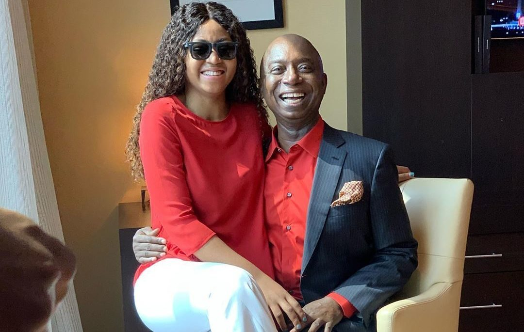 Regina Daniels and her husband, Prince Ned Nwoko are expecting their first child (photos)