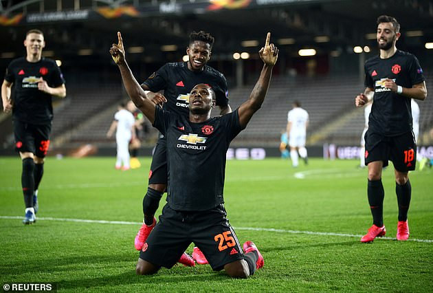 Finally! Manchester United officially confirm Odion Ighalo's loan deal has been extended until January 2021
