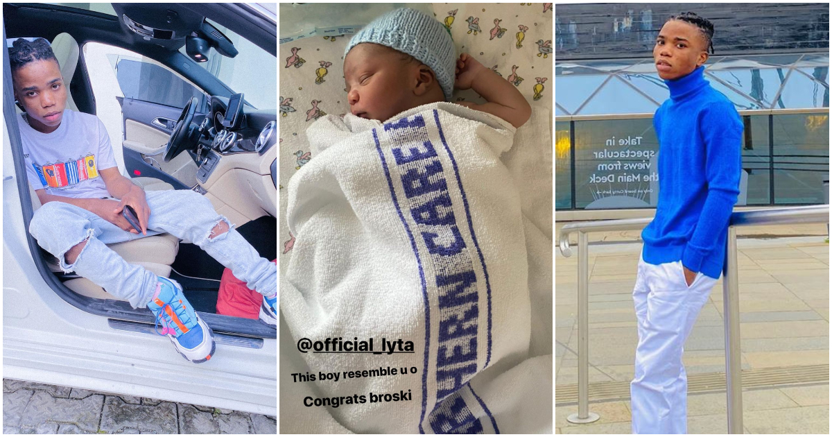 Singer, Lyta Welcomes First Child, A Baby Boy