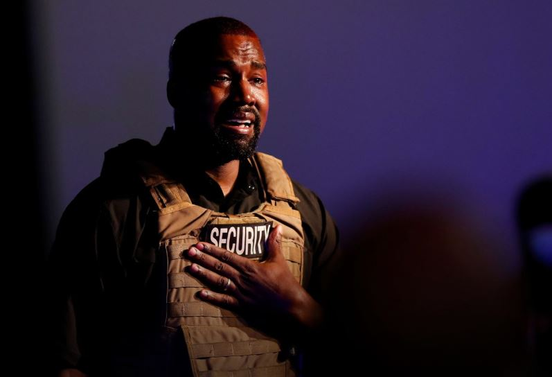 Kanye West Breaks Down In Tears At Campaign Rally, Admits He Nearly Aborted His First Daughter, North