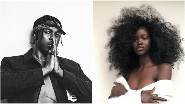Runtown Reportedly Engaged To Australian Sudanese Model, Adut Akech