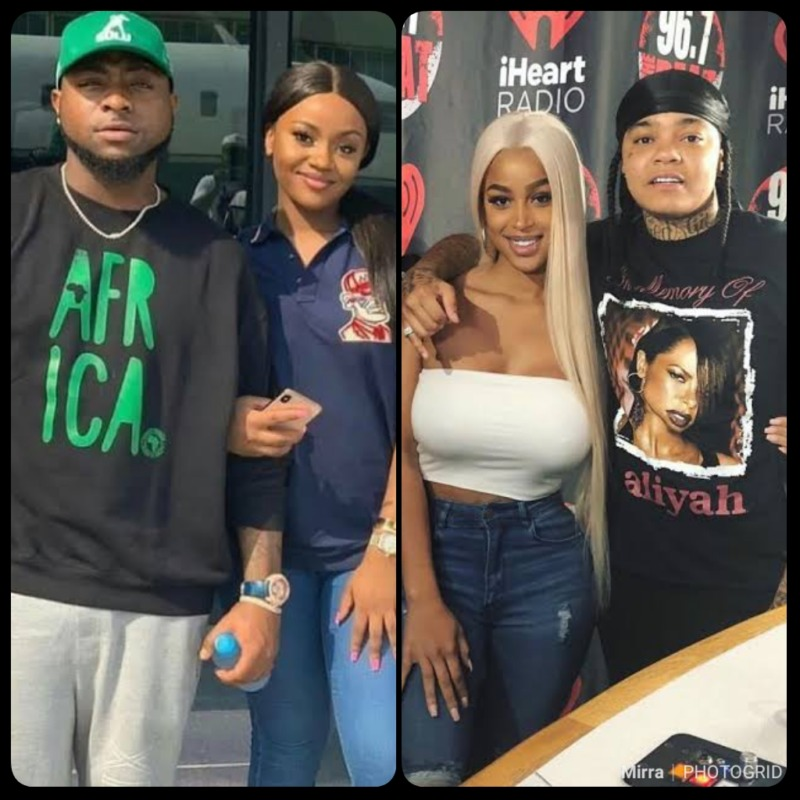 Confusion As Davido Gets Caught Leaving A Club With Sexy Model While Vacationing Abroad