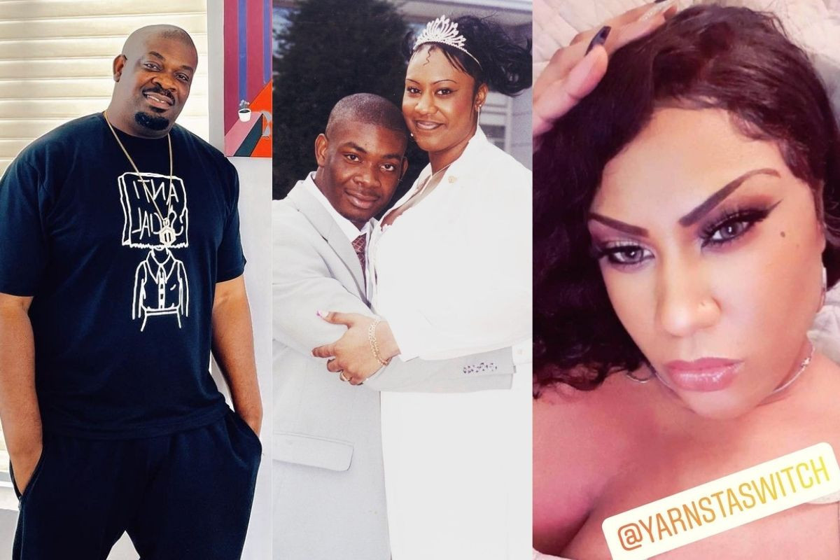 Don Jazzy's Ex-wife, Michelle Explains The Height Difference In Their Wedding Photos
