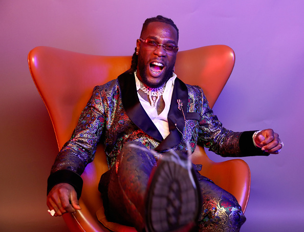 Burna Boy Celebrates As 'Ye' Gets Certified Gold In The US