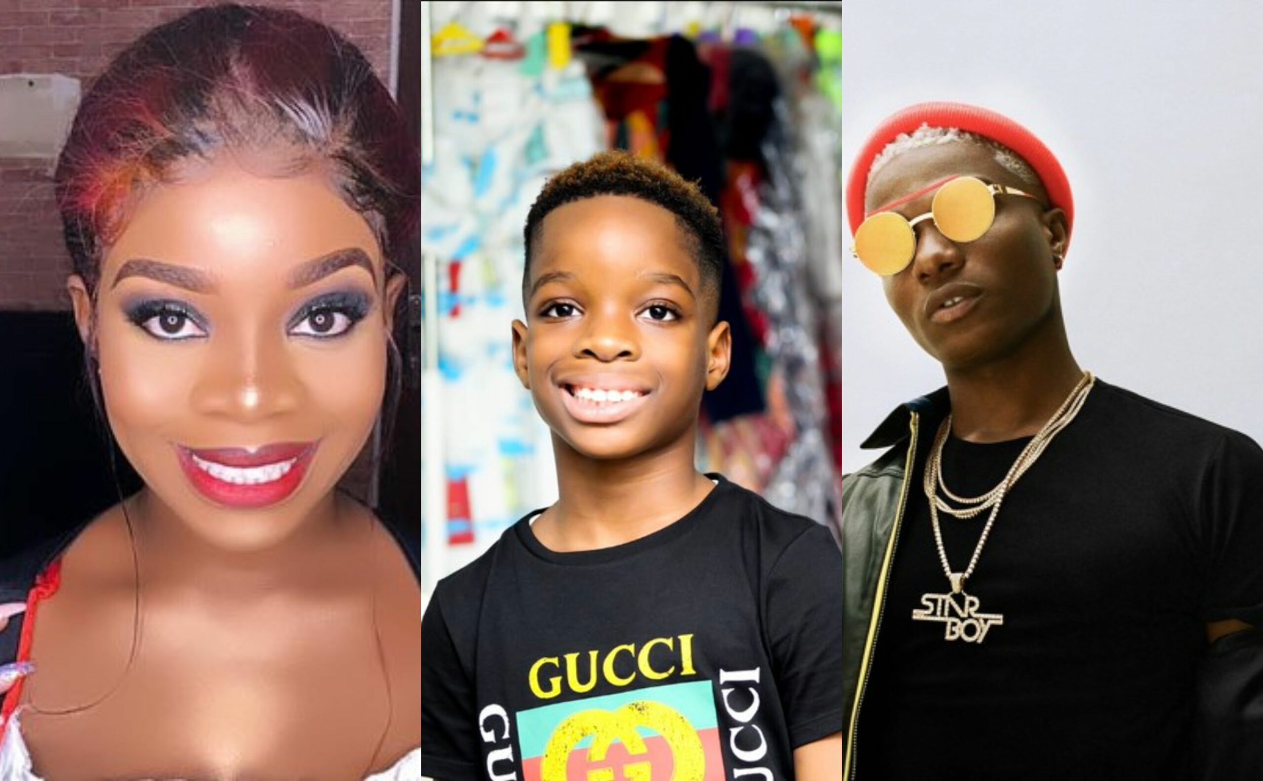 Wizkid Replies Shola After Missing Their Son's Birthday 10 Years In A Row