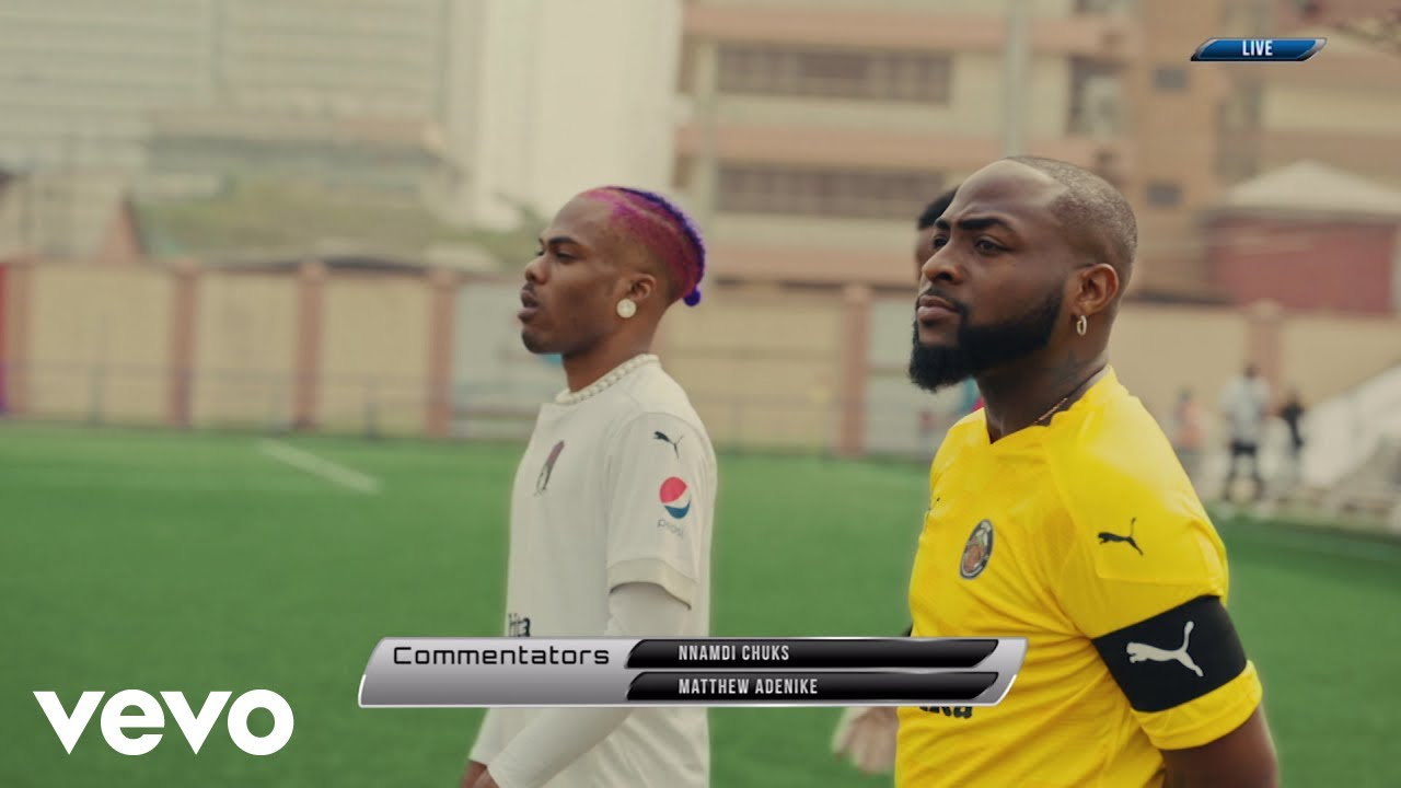 "Video: Davido – ""La La"" ft. Ckay (Starring Jay Jay Okocha)"